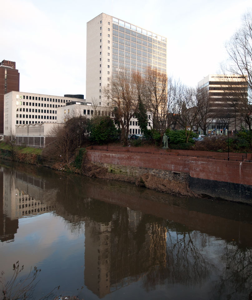 View across River Irwell.