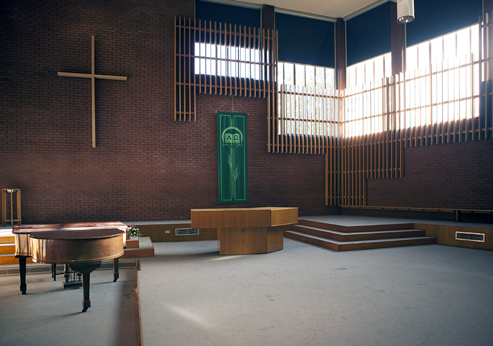 Main chapel space