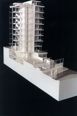 Sectional model.