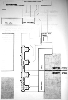 Upper level plan.
