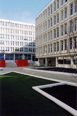 Courtyard in 2003.