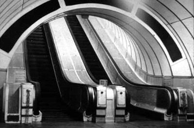 Escalators at completion.