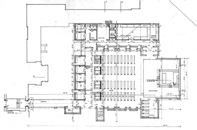 Building plan. Extract from wallsheet.