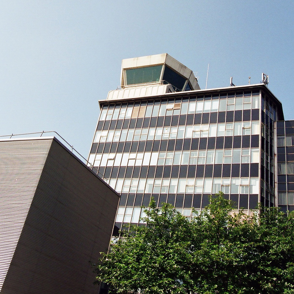 Control Tower. Part of 1962 scheme still visible.