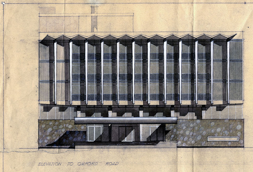 Front elevation study.