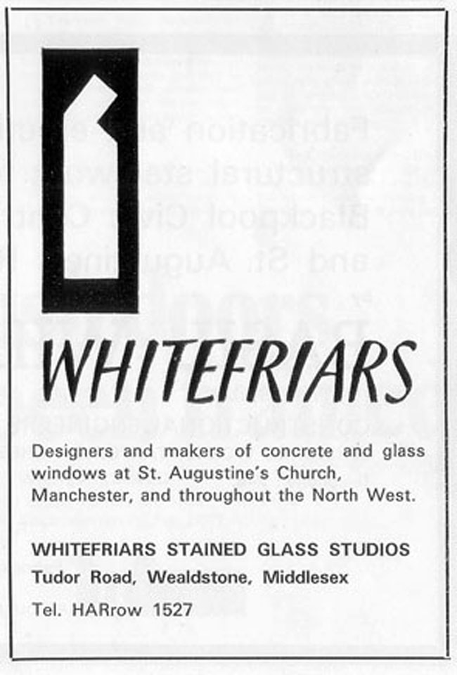 Whitefriars advert.